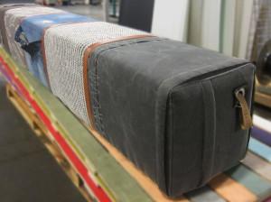 5-persoonsbank canvas-jeans-postzak