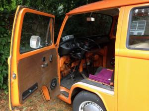 deur te pimpen VW-bus T2